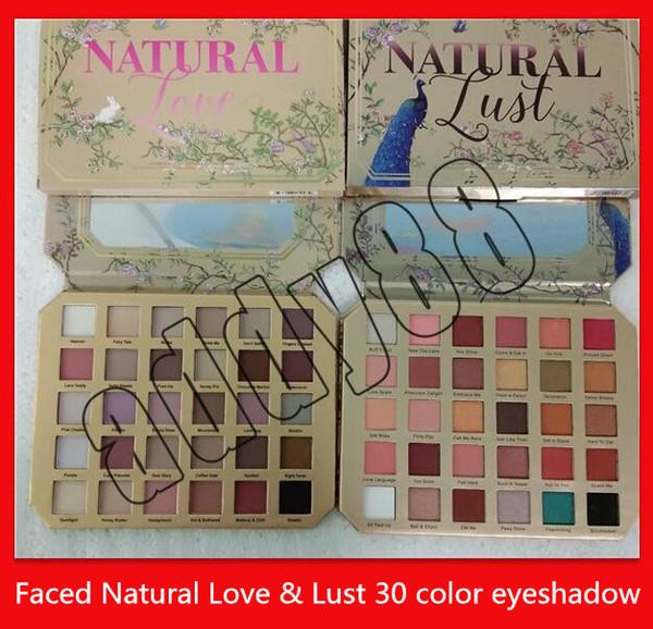 best selling 2019 eye Makeup eyeshadow palettes Chocolate Natural Love Sex lust blue Peacock 30 colors Eye Shadow cosmetics