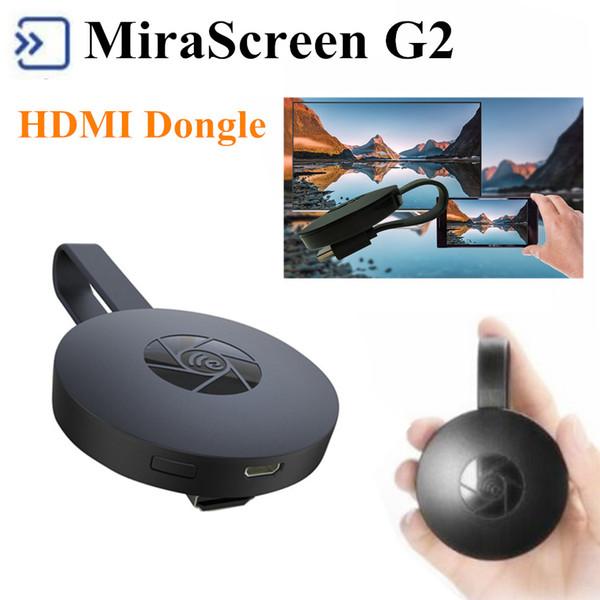 MiraScree G2 Wireless TV Stick Dongle TV Stick 1080P HD 2.4G HDMI TV Dongle Поддержка Airplay DLNA Play Google Chromecast