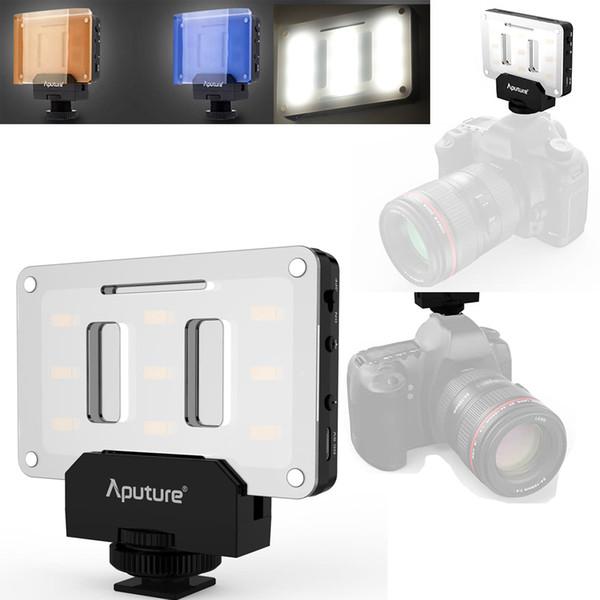 Voyant LED pour éclairage de photo pour le studio de photographie Tournage Caméscope Caméra Vidéo Hotshoe Lampe LED