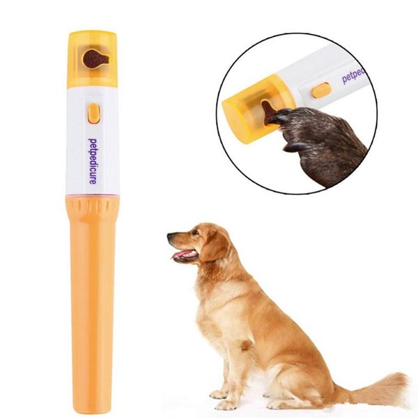 top popular Painless Pet Nail Clipper Pedi Pet Dogs Cats Paw Nail Trimmer Cut Pets Grinding File Kit Grooming Products Protable T0307 2020