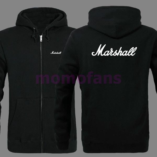 Acheter Sweat À Capuche Zippé Avec Logo Marshall Pour Homme Et Femme De $33.71 Du Caeley | DHgate.Com
