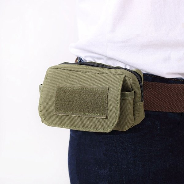 Tactical Utility Pouch Outdoor Pocket Mini Molle Pouch Pack Waist Travel Sports Wear-resistant Travel Bag Phone Bag #664402