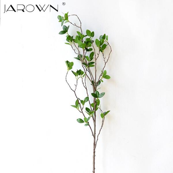 ecorative bouquet Artificial Flower Leaf Green Plant Branches Simulation Branch Artificial Plant Leaves Wedding Decorative Bouquet DIY ma...