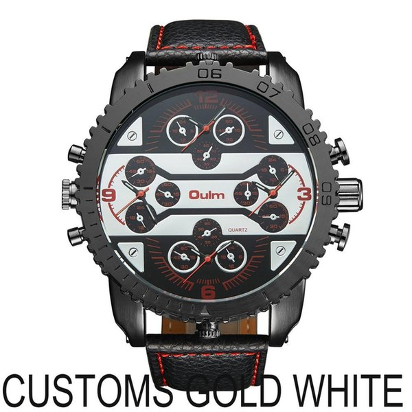 CUSTOMS GOLD WHITE