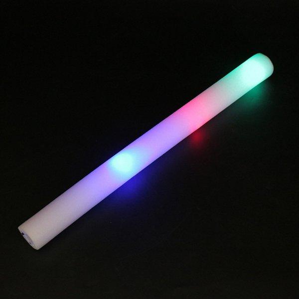 Vara de esponja colorida, concerto de iluminação, clube lâmpada LED, vara de espuma de lanterna, vara fluorescente, atividades para animar os adereços.