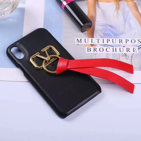One Piece PU leather phone case for iPhone 7 luxury designer phone cases for iphone 8 P X Back cover hot sale case