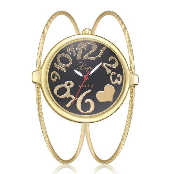 Filles Bracelet femme Montres Mode Robe diamant SAATS Mesdames Quartz Analogique Or Rose Horloge Zegarek damski reloj de mujer
