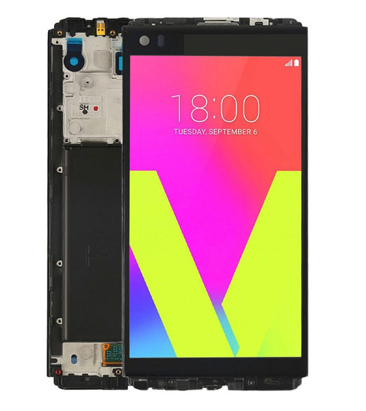 For LG V20 LCD Display VS995 VS996 LS997 H910 H915 H918 H990 Touch Screen Digitizer Frame Assembly Replacement For LG V20 lcd