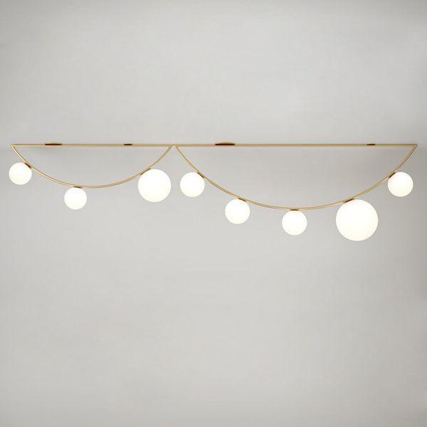 Magic Bean Lamp Ceiling Lights Creative Milk White Glass Ball Light Hanging Lamp Living Room Dining Room Home Lighting No86