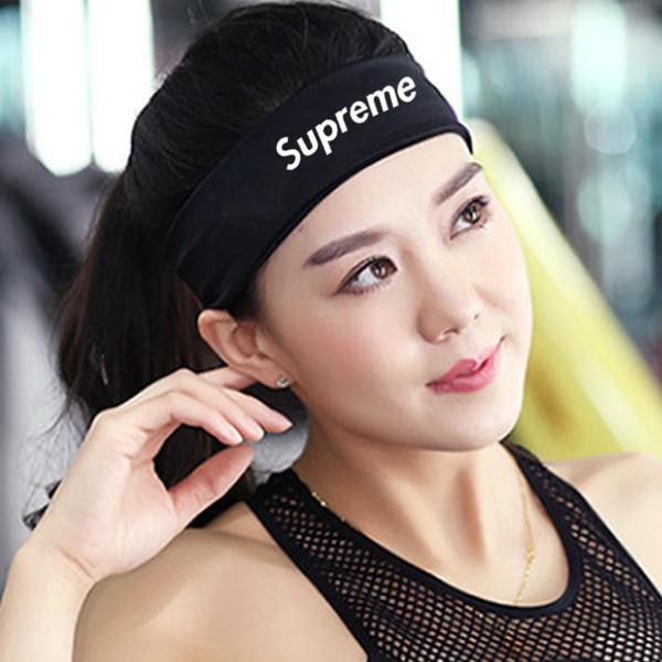 Designer Sup Brand Fashion Stirnband Headwear Unisex Basketball Radfahren Laufen Yoga Fitness Elastische Stirnbänder Sport Stirnbänder Haargürtel