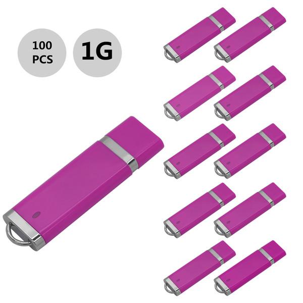 j_boxing Pink 100PCS 1GB USB 2.0 Flash Drives Lighter Model Pen Drives USB Memory Stick Thumb Storage for PC Laptop Macbook Tablet U Disk