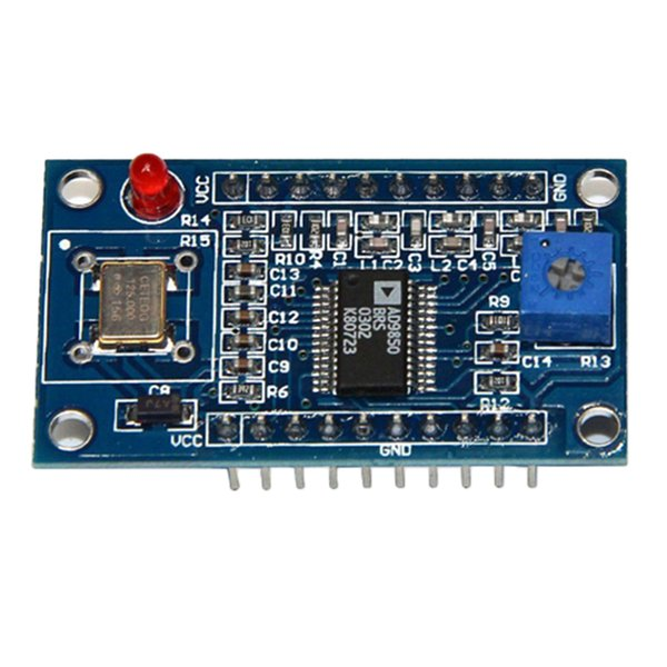 best selling 1Pcs AD9850 DDS Signal Generator Module 0-40MHz Sine 2-Square Wave Output IC