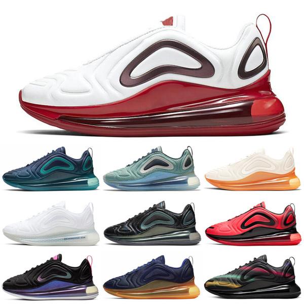Nike Air Max 720 Tie-Dye BETRUE Femmes Hommes Chaussures de course Fierté Gris Carbone Obsidienne Neon Volt Hommes Baskets Marche Jogging Sport Baskets 36-45