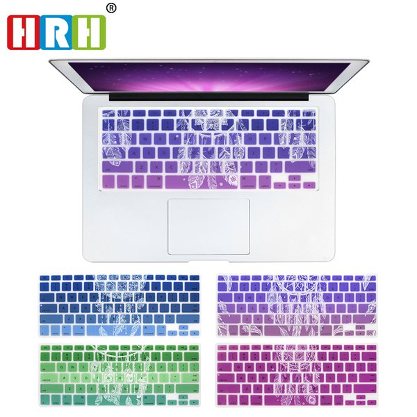 HRH Dream Catcher Silicone Keyboard Covers Keypad Skin Protector For Macbook Pro 13 15 17 Air 13 Retina Display 13 USA Layout