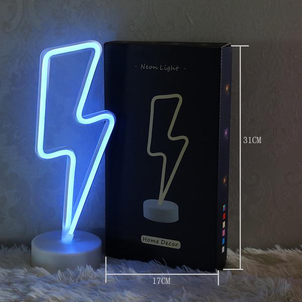 OHANEE Custom fit lightning led tube Neon Sign Light home bedroom wedding festival decoration Arts Crafts birthday Gifts Lighting