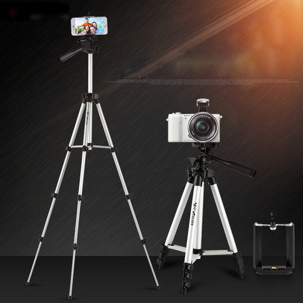 Kapel Phone Tripod 103.5cm Stand for Camera Smartphone Cellphone and SLR Camera with Carrying Bag and Smartphone Mount and Wireless Bluetoot