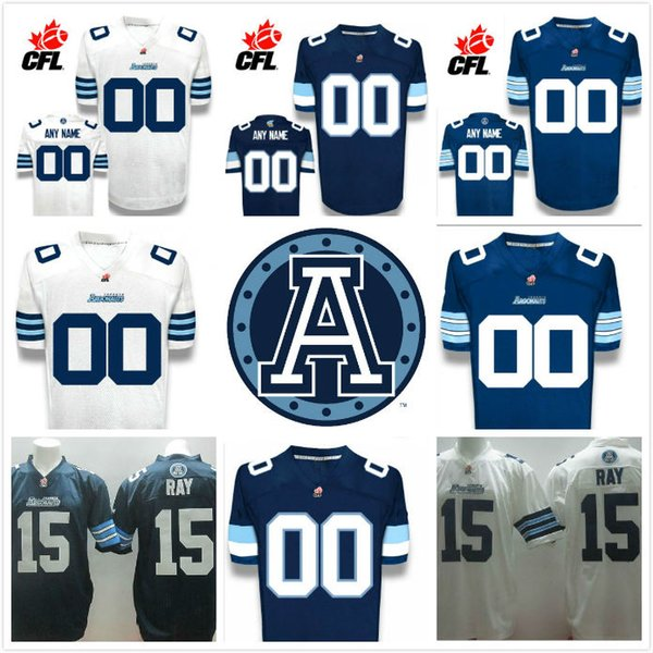 super popular 1fb8c d81cc 2019 CFL Custom Toronto Argonauts Premier TC Alt Navy Blue White Football  Jersey From Jack99888, $20.82 | DHgate.Com