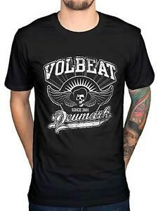 Official Volbeat Rise From Denmark Since 2001 T-Shirt New Heavy Metal RoPrint Merch