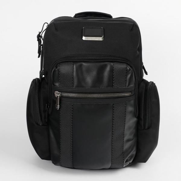 Designer de balística de nylon tumi-TUMI232681 mochila à prova de balas homens de negócios casuais bolsa de 15.6 polegadas saco de computador estudante bolsa de ombro ZDL 89