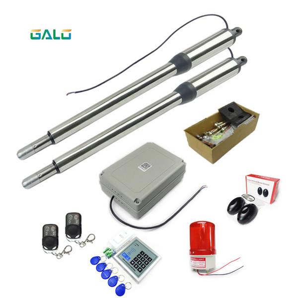 Sistema de automação de controle de acesso GALO Swing Gate Opener Controle remoto ativado 50m, quantidade de controle remoto opcional