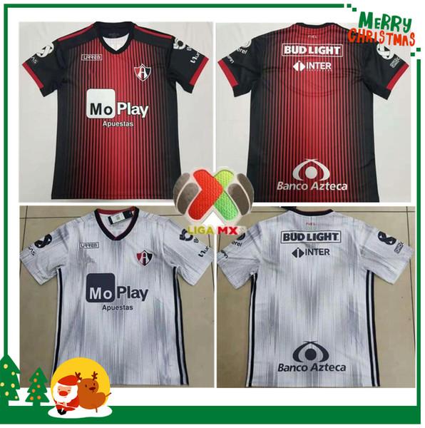 Atlas 2019 do clube mexicano casa camisas de futebol vermelhas 19 20 Atlas de jérsei de 2020 FUTEBOL camisas brancas