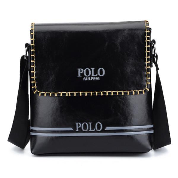 Henghsheng Quality Leather Men Vertical Bag Fashion Business Men Shoulder Bag Quality Pu Leather Messenger Bags
