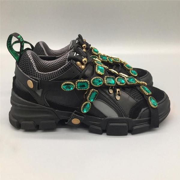 Compre 2019 Auténtico Flashtrek Sneaker Con Cristales Extraíbles Hombre Mujer Zapatos Casuales Escalada De Montaña Botas Con Cordones Senderismo