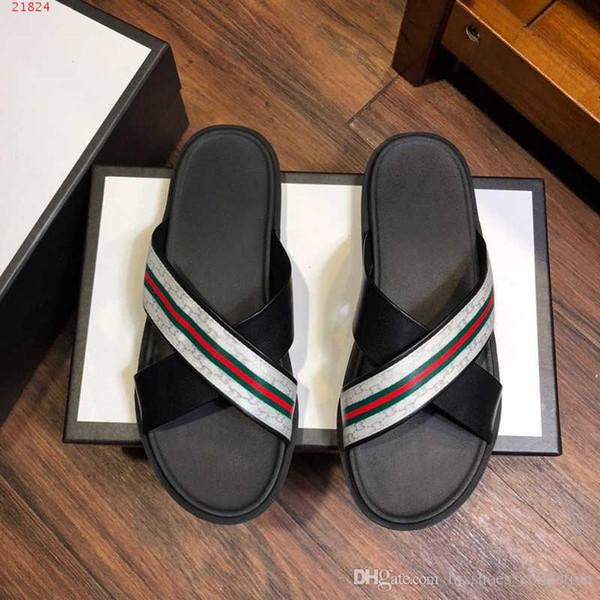 2019 последние классические мужские ботинки с узором, модные шлепанцы, пляжная обувь Resort, размер 38-45, горячие продажи