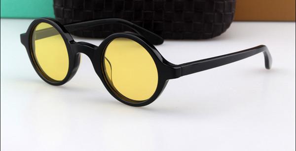 Siyah çerçevesi + nightvision sarı