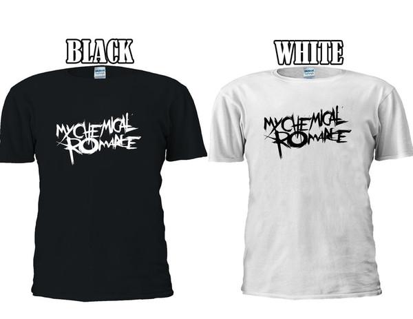 MY CHEMICAL ROMANCE Skull Logo T-shirt Baseball Vest Men Women Unisex 2659 Funny free shipping Unisex Casual Tshirt top
