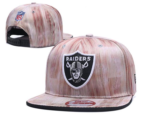 Wholesale 2019 Top Quality Raiders Snapback Hats Gorras Embroidered Team Logo Fan's Hip Hop Cheap Sports Baseball Adjustable Caps Bones