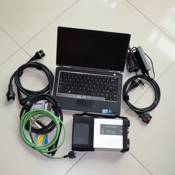 Super MB Star C5 Sd Connect with SSD XENTRY/WIS/EWA/VEDIAMO/DTS 2019 SD C5 Diagnostic Tool with E6320 laptop i5&4g