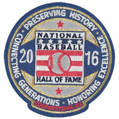 2016 HOF Patch