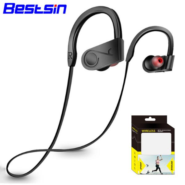 Bestsin K99 Wireless Bluettoth Kopfhörer Ohrbügel Typ Stereo Laufender Kopfhörer Für Iphone XS XR XSMAX Samsung S9 Hinweis 9