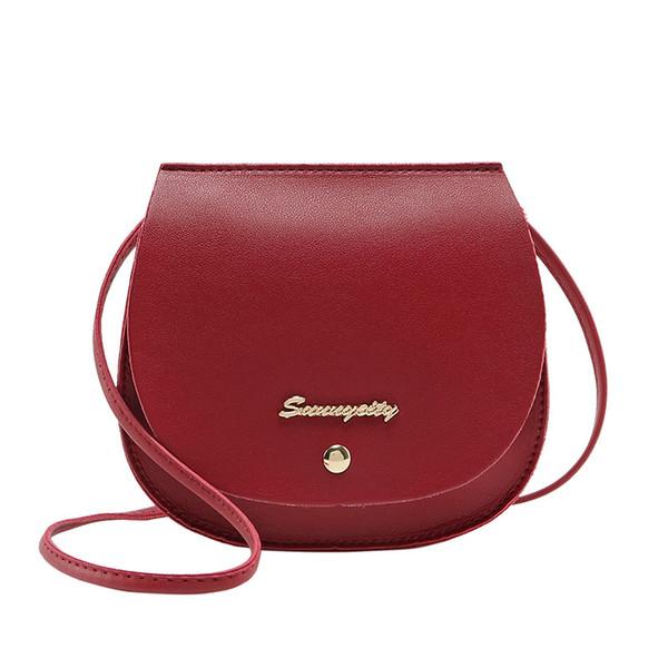 2019 nouveau sac à bandoulière diagonale des femmes de la mode ultra-léger Version PU coréenne de la tendance féminine petit sac croix sac de selle