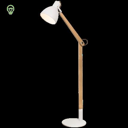 2019 Nordic Standing Lamp Modern Wood Floor Lamp Living Room Bedroom Stand  Light Free Standing Lamps For Living Room Luminaire From Yuancao, $307.72 |  ...