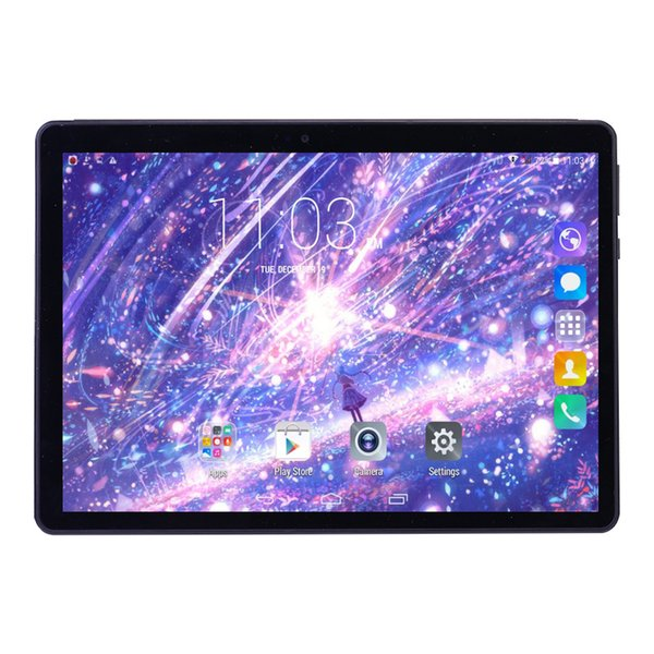 Cheap 2018 Newest 10 Inch Tablet PC Android 4 4 4GB RAM 32GB ROM Octa Core  8 Cores Dual Cameras 5 0MP 1280*800 IPS Phone Tablets+Gifts Digital Tablet