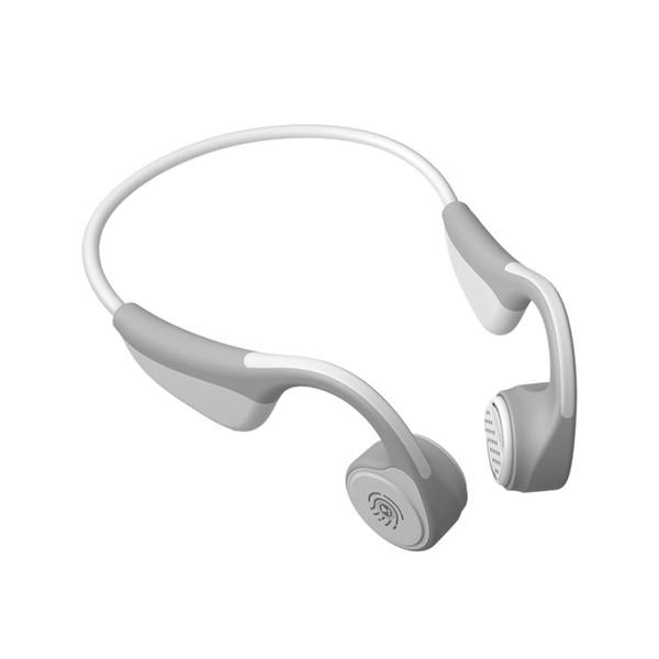 V9 Knochenleitung Bluetooth Headset Bluetooth 5.0 Schwarz Technologie Sport Wireless Headset Stereo Display, Sprachsteuerung, Anruffunktion
