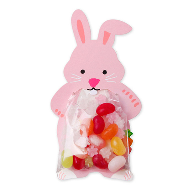 8X12CM Cute cartoon bear kangaroo fox rabbit animal food creative card food packaging bag baking decorative bag DHL