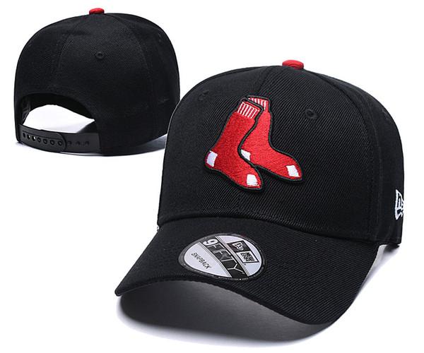 One Piece Red Sox Golf Visor Sombrero Snapback para hombre en gorras de béisbol Logotipo del equipo bordado Gorra ajustable Marcas Cheap Summer Bones Chapeu