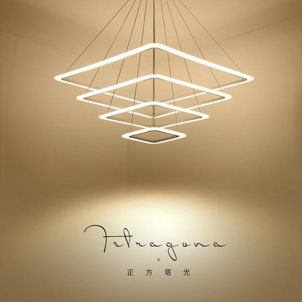 JESS New Creative moderne luci a sospensione a LED Cucina acrilico + sospensione sospensione a sospensione in metallo per sala da pranzo lamparas colgantes