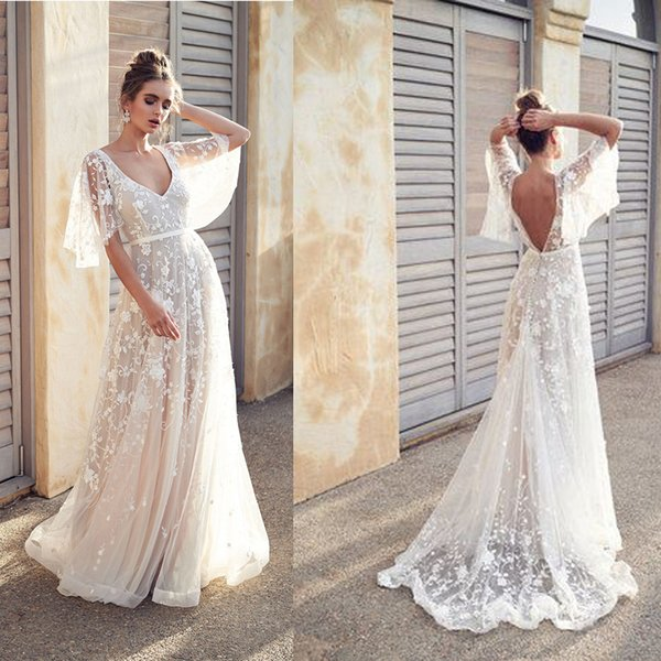 2019 New Women long Dress Sexy Deep V Neck Casual Party Dress Backless Sleeveless White Dresses Vacation Wear Y200101