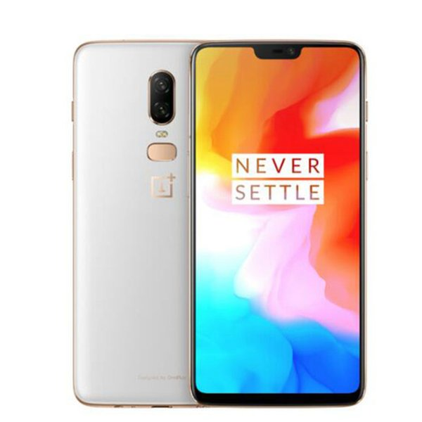 "8GB 128GB OnePlus 6 16MP+20MP Dual Rear Camera 6.28"" AMOLED Full Screen FHD+ Octa Core Snapdragon 845 Face ID Fingerprint NFC GPS Smartphone"