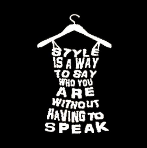 Style Dress Quote Fashion Lettering Wall Vinyl Sticker Decal Mural decor Room Decoration Accessories
