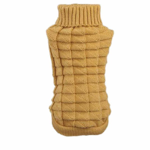 pet dog clothes winter chihuahua puppy dog coat Pet Winter Woolen Sweater Knitwear clothing for dog roupas para cachorro