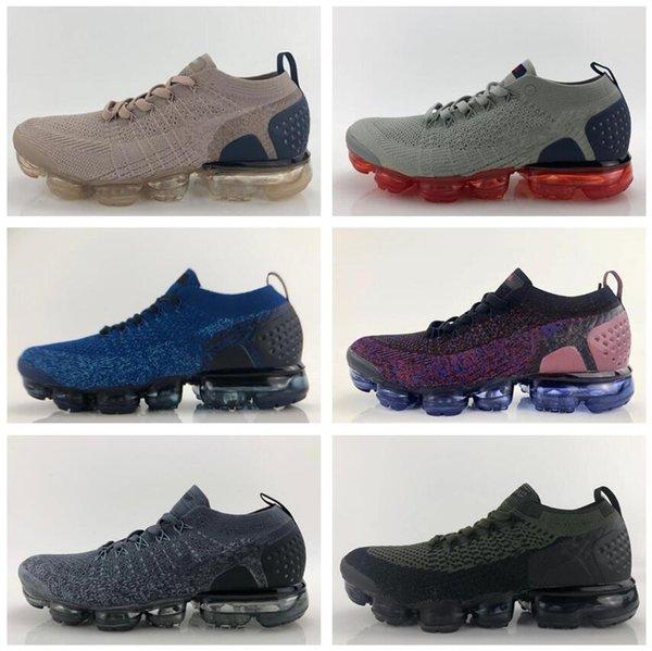2019 Las más nuevas llegadas Vapors 2.0 Mujeres zapatos para hombre Triple negro blanco rojo entrenadores Diseñadores deportivos Zapatillas Running Maxes Zapatos