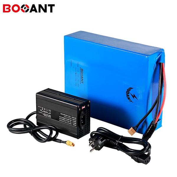 Batterie au lithium de vélo électrique puissante 1000w 1500w 48v 20ah pour Samsung INR18650-25R cellule 13S 48v batterie de scooter + chargeur 5A