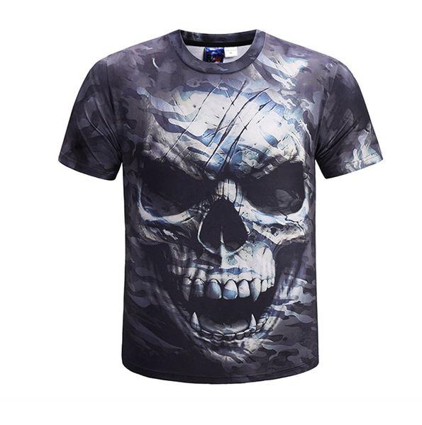 t-shirt crâne
