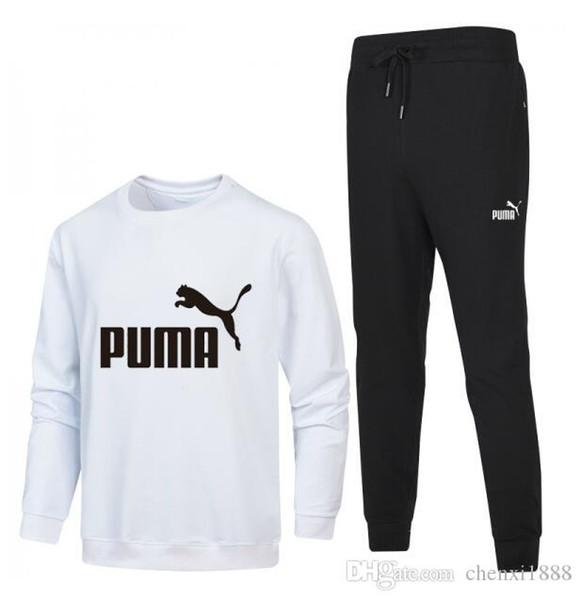 Marca 2019 hombres con cremallera completa hombre traje deportivo blanco hombres baratos sudadera y pantalón traje sudadera con capucha y pantalón conjunto suéter hombres