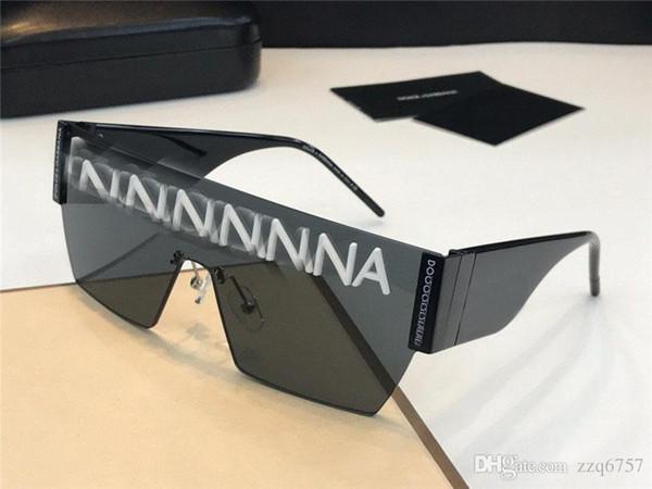 Les nouvelles lunettes de soleil de designer de mode 2233 pilotes encadrent le style de vente populaire objectif uv400 protection de haute qualité eyew style classique